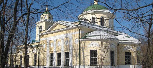 Картинки по запросу Храма Сошествия Святого Духа на Даниловском кладбище. фото